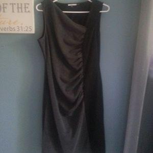 Milano black and gray dress